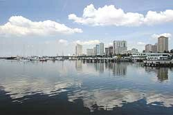 View of the Manila Harbour